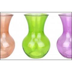 GLASS FEELING Váza sklenená 12,5x18cm