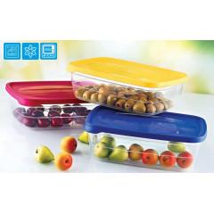 Dóza na potraviny  TREND BOX 2 l  16,5x23x7 cm