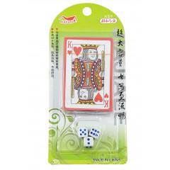 TOYS GAME Karty s kockami  20x10 cm