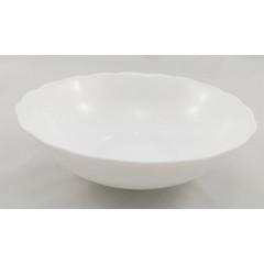 CERAMICS & GIFTS  Miska keramická biela 18x5,5 cm