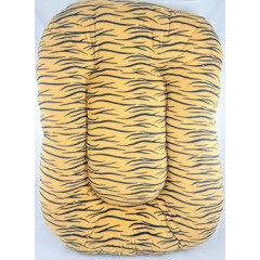 PET PRODUCTS Pelech pre zvieratá oválny tigrovaný 85x63 cm