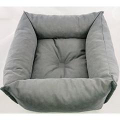 Pelech pre zvieratá, šedý tmavý 50x50x15 cm
