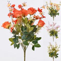 FLOWER HARMONY Umelá kytica s ružami