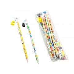 Ceruzka veľká so strúhadlom a gumou dĺžka 38 cm