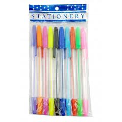 Gélové pero sada 10 ks