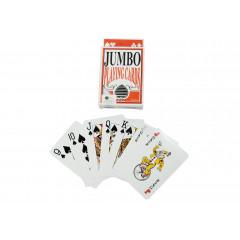 Hracie karty JUMBO 15,5 x 9 cm