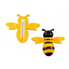 GARDEN FLOW Teplomer plastový včielka