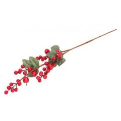 CHRISTMAS DECOR Vetvička vianočná dekoračná 64 cm