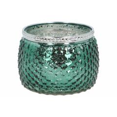 GLASS FEELING Svietnik sklenený   11x7.5 cm