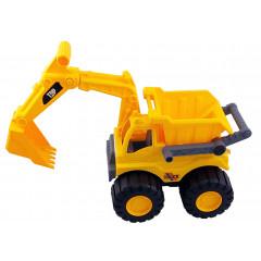Hračka stavebný stroj-bager s vyklápačkou 30x25x16 cm