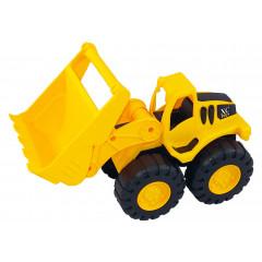 Hračka stavebný stroj s radlicou 23x19x10 cm