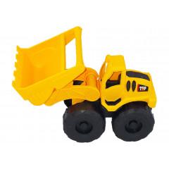 Hračka stavebný stroj s radlicou 23x16x7 cm