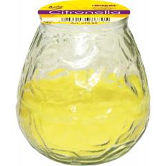 CANDLE CHIC sviečka v skle záhradná vôňa Citronella proti komárom