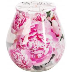 AROMA THERAPY Sviečka v skle s vkladom vôňa Ruža