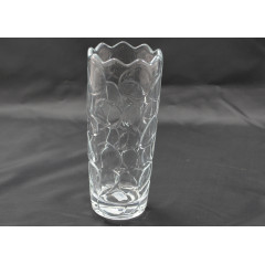 GLASS FEELING Váza sklenená rozmer 20/8 cm