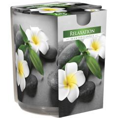 AROMA THERAPY Vonná sviečka v skle vôňa  Relaxation