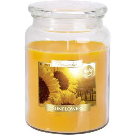 AROMA THERAPY Sviečka v skle vôňa slnečníc