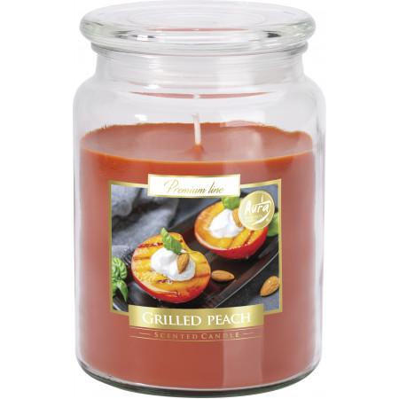 AROMA THERAPY Sviečka v skle vôňa grilované broskyne