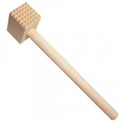 KITCHEN CLASSIC Tĺčik na mäso bukové drevo štvorcový 30x8x4 cm