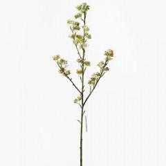 FLOWER HARMONY Konár bielo-zelený 79 cm