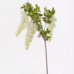 FLOWER HARMONY Konár agát biely 105 cm