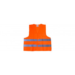 HOUSEHOLD Reflexná vesta ,,orange,,