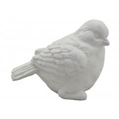 HOME DECO Vtáčik sadrový 12x10 cm