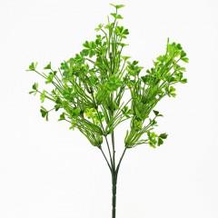 FLOWER HARMONY Zeleň dekoračná štvorlístok 36 cm
